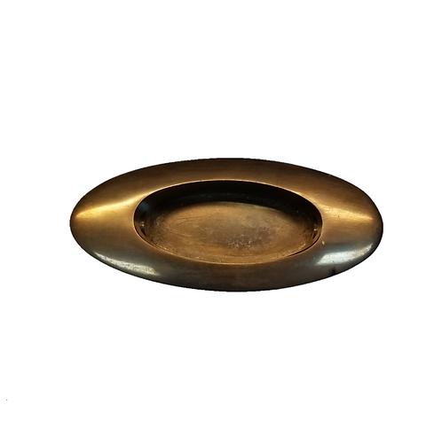 Plain Oval Bronze Window Lift #3935