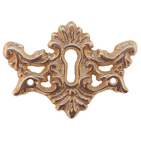 Decorative Key Escutcheon for Oak Furniture