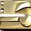 Thumbnail: Sash lock with round knob