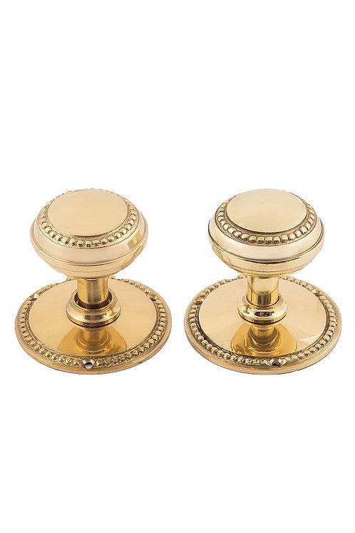 "Beaded doorknobs and 3"" rosettes 0207.USXX"