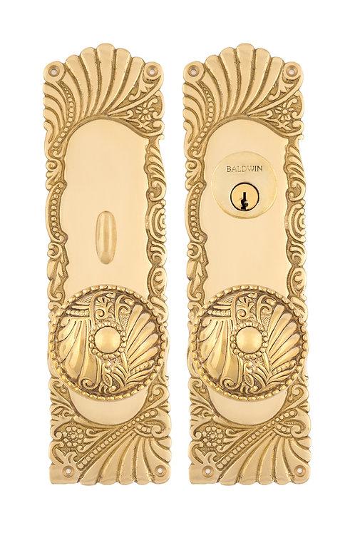 Roanoke Entry Sets w/ Floral Doorknobs #154X.USXXX