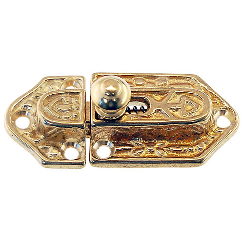 Decorative Brass Cabinet Latch