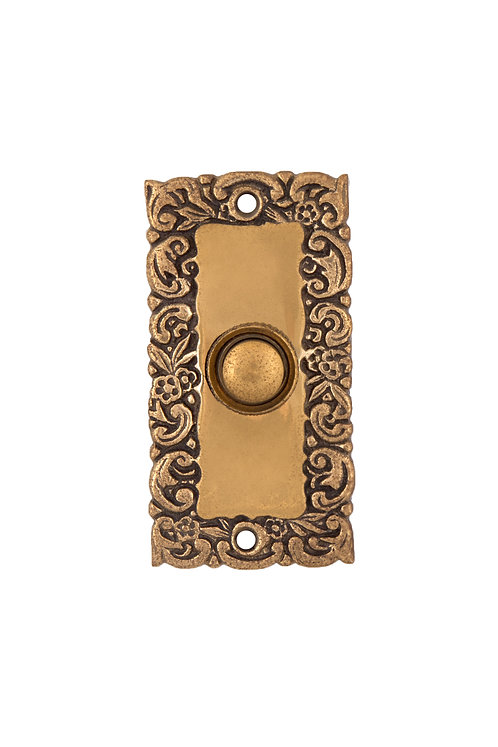 Scroll Rectangular Doorbell Button #3308.USXXX