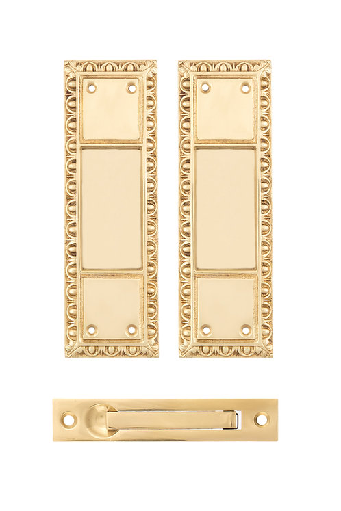 Egg & Dart Passage Pocket Door Set #0820.USXXX