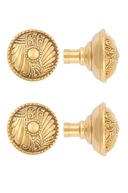 Roanoke Floral Doorknobs #1501.USXXX