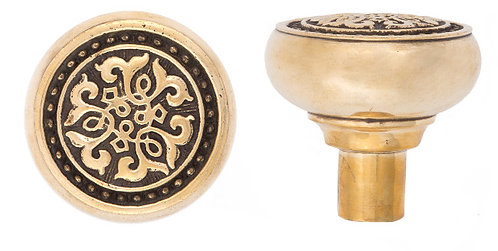 Scroll doorknobs