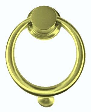 Heavy Brass Ring Doorknocker