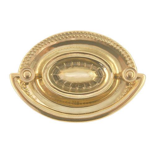 Hepplewhite Brass Furniture Pull