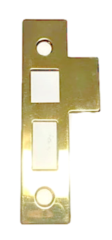 Interior mortise lock strike plate 3204.XXX