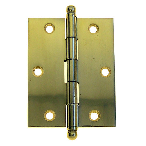 "2 1/2"" x 2"" Solid Brass Hinge"