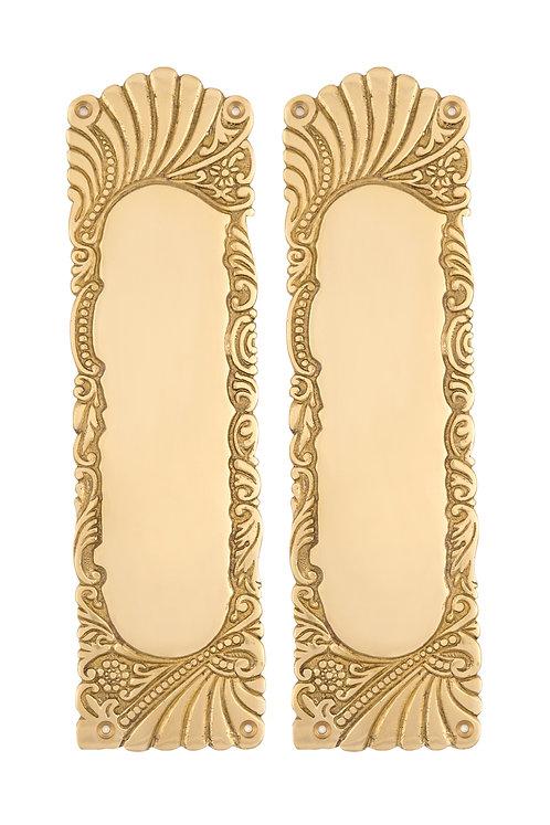 Roanoke Brass Push Plates #1532.USXXX