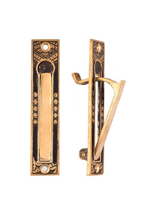 Oriental Pocket Door Edge Pull #1339.USXXX