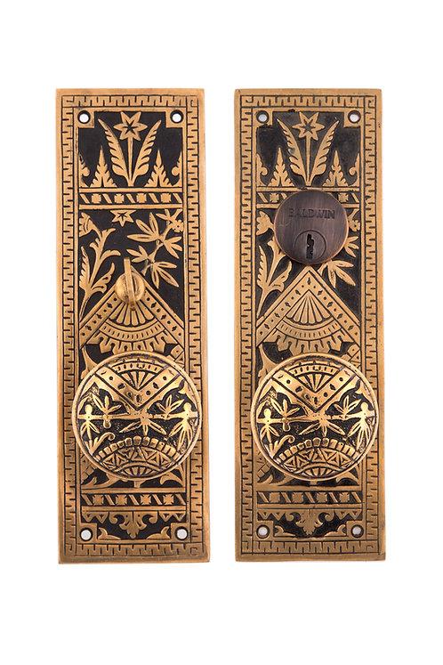 Oriental Small Mortise Entry Set #135X.USXX