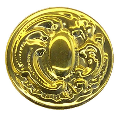 Decorative Brass Cupboard Knob