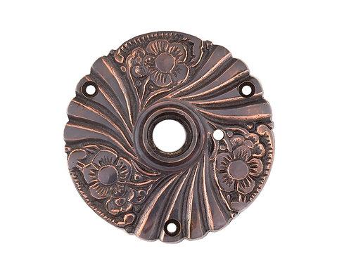 "Antique Copper Roanoke 3"" Rosettes #150X.US8"
