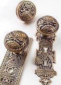 Charleston Hardware Co. Oriental Bronze Pattern Hardware