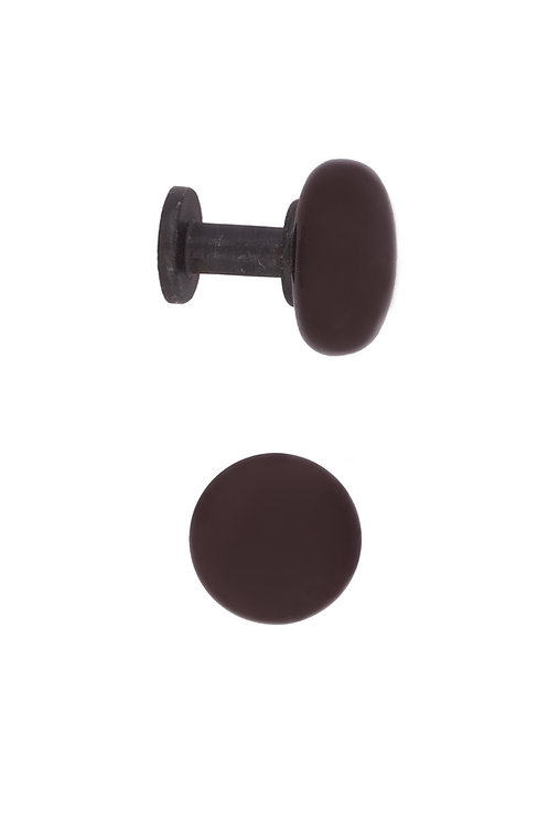 Brown Ceramic Cabinet Knobs #2417.US19