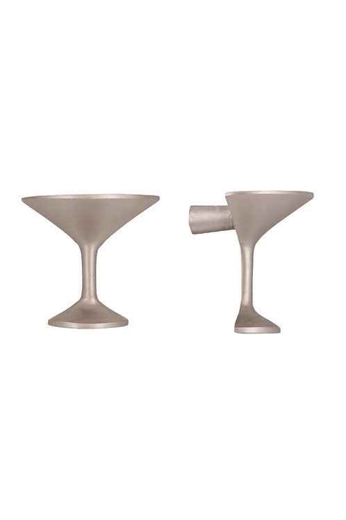 Cocktail Glass Bar Cupboard Knob #4646.US15