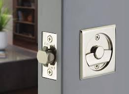 Square Tubular Pocket Door Lock