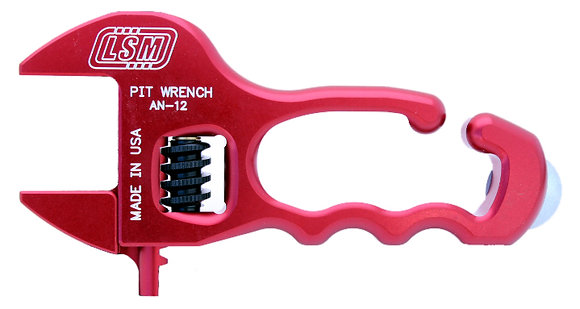 LSM Adjustable Pit Wrench w/ Dzus Tool (AN-12R)