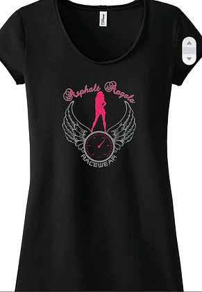 Asphalt Angels Black Front Only