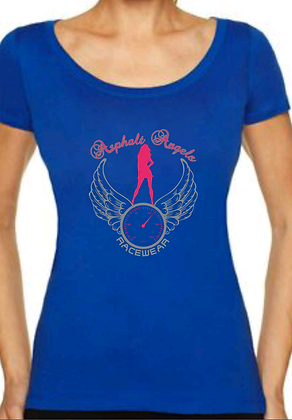 Asphalt Angels Blue Full Back
