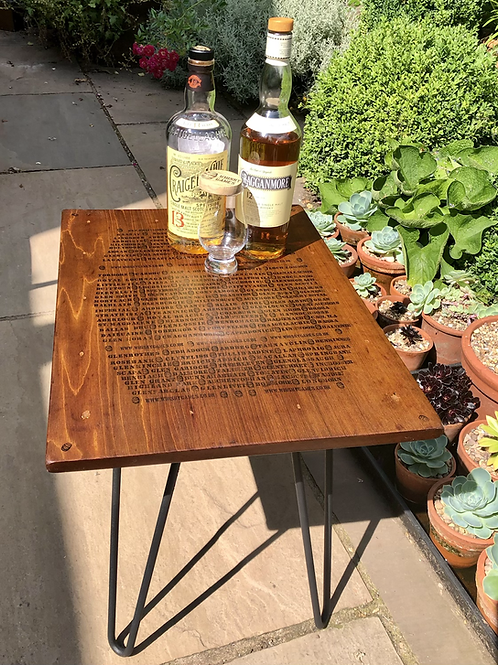 Distillery Table (Recycled Wood)