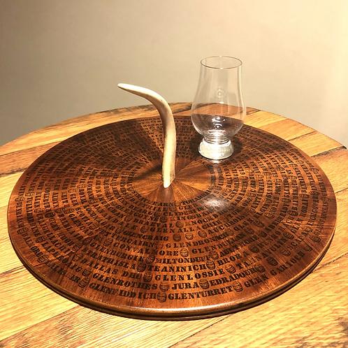 Distillery Tray (Antler Handle)