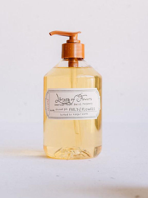 "Library of Flowers ""Field & Flowers"" Shower Gel"