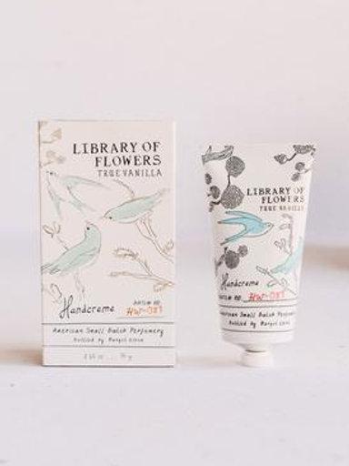 "Library of Flowers ""True Vanilla"" Hand Cream"