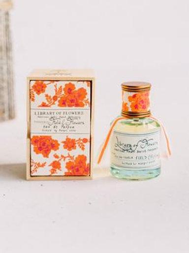 """Library of Flowers """"Field of Flowers"""" Eau de Parfume"""