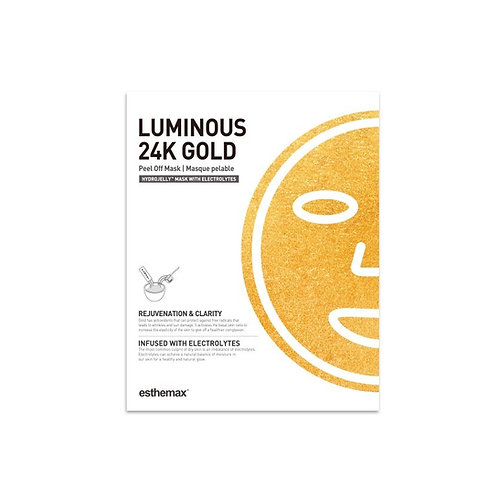 Luminous 24K Gold Hydro Jelly Mask