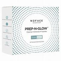 """NuFace """"Prep-N-Glow"""" face cleansing wipes"""