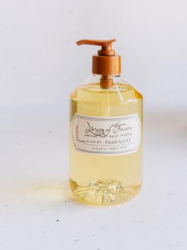 """Library of Flowers """"Honeycomb"""" Shower Gel"""