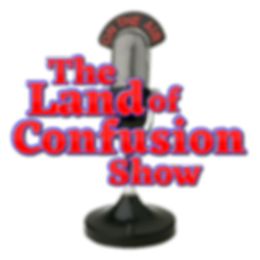 The Land of Confusion Show Logo 2000x200