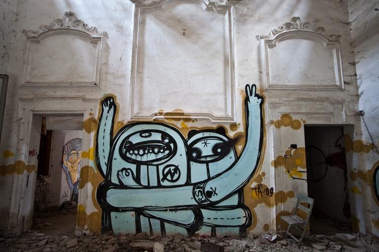 Villa Manzuta Street Art