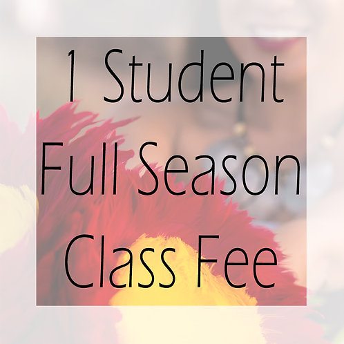 Fall 2020 Class Fee Full +1 Student