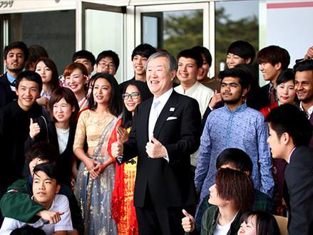 Dear new students- My entrance ceremony