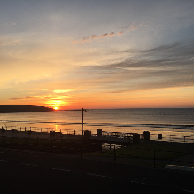 Early Sunrise over Filey Brig