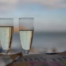 Sunrise Champagne Toast