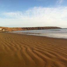 Filey's Beautiful Beach
