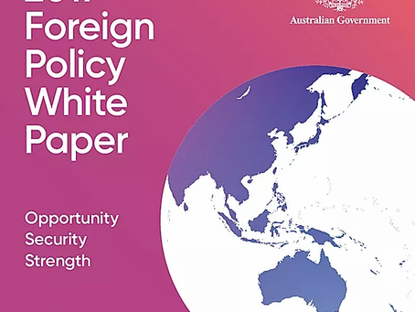 The Good, the Bad, and the Ugly of Australia's Foreign Policy White Paper