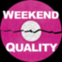 Weekend Quality logo broken record