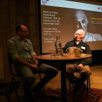 Filmvertoning in het Humanity House in 2018