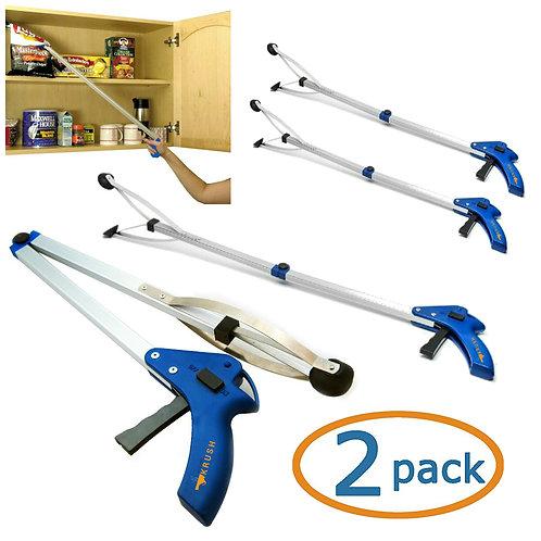 Gripper Reacher Grabber Tool For Disabled and Elderly 2 Pack Set