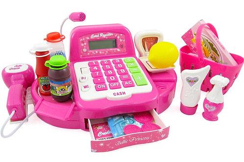 Cash Register Toy Playset for Kids