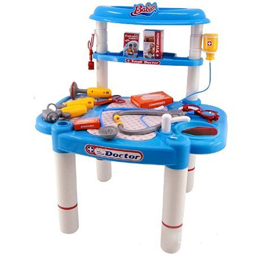 Little Doctors Deluxe Medical Playset For Kids