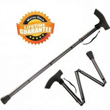 Canes and Walking Sticks for Men and Women Travel Adjustable Folding Cane