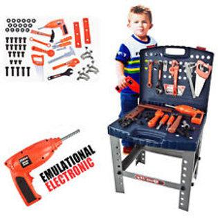 Pretend Tool Set Workbench For Kids