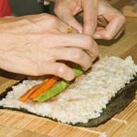 Veggie Nori Maki-Sushi